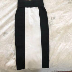H&M x Balmain skirt